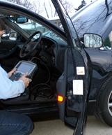 inspecting-car